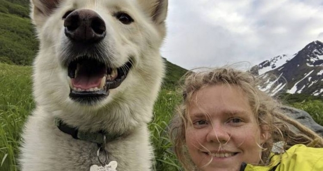 Cachorro ajuda a resgatar jovem que havia caído em rio